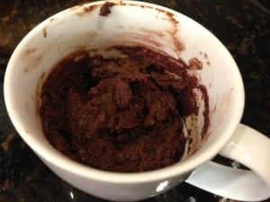 brownie in a mug 2