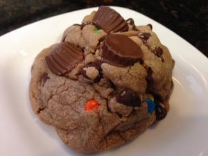 Reeses Spread Cookies